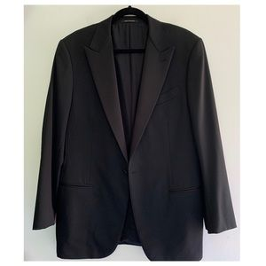 Ermenegildo Zegna Black Wool Multiseason Blazer